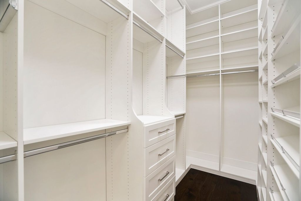 Custom Made White Dresser and Shelves