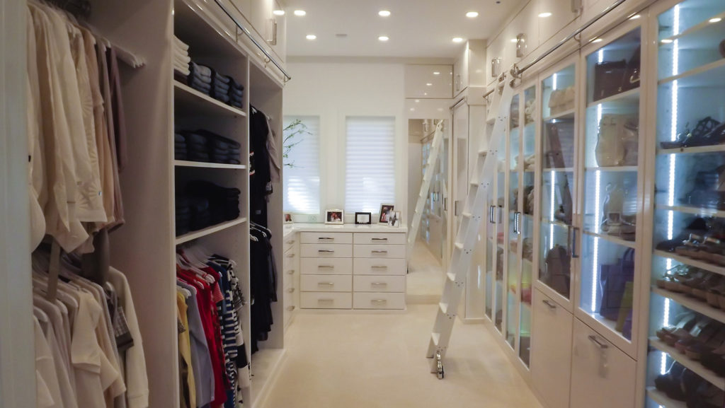 Custom Made Walk in Closets