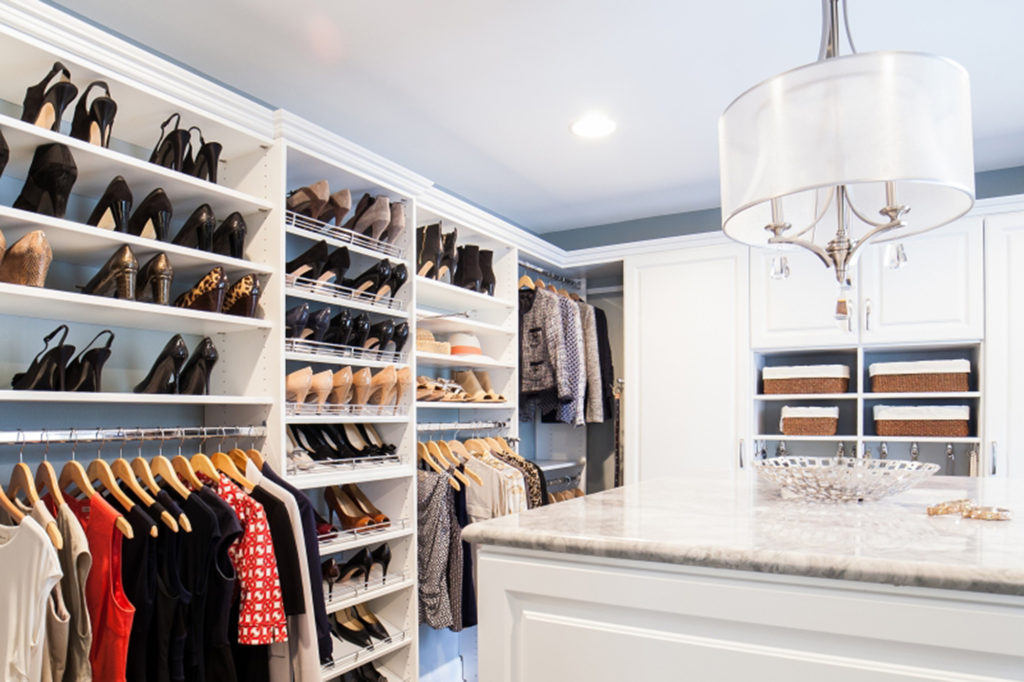 Custom Made Closets and Shelves