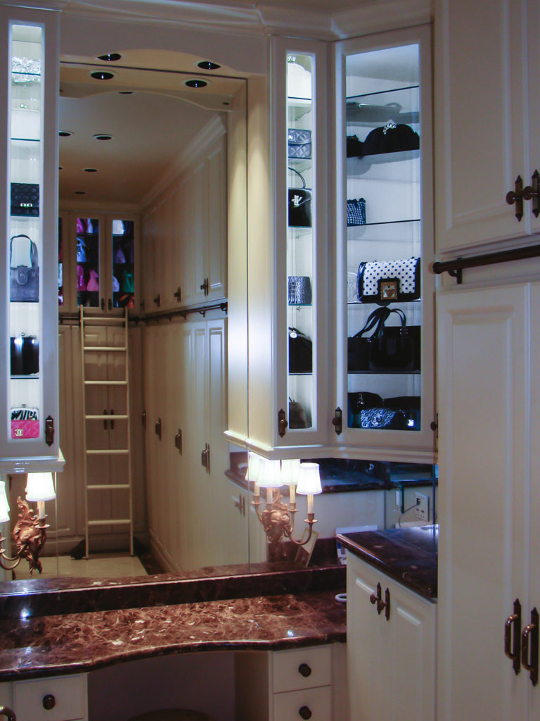 Custom Made Closet and Cabinets