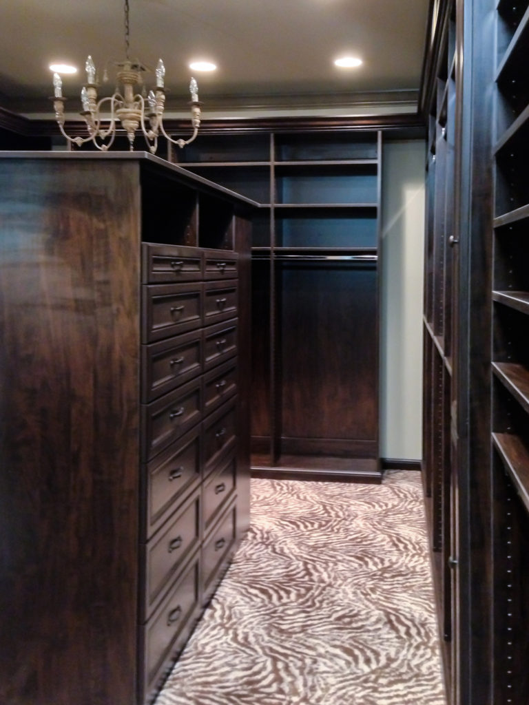 Custom Drawers and Shelving