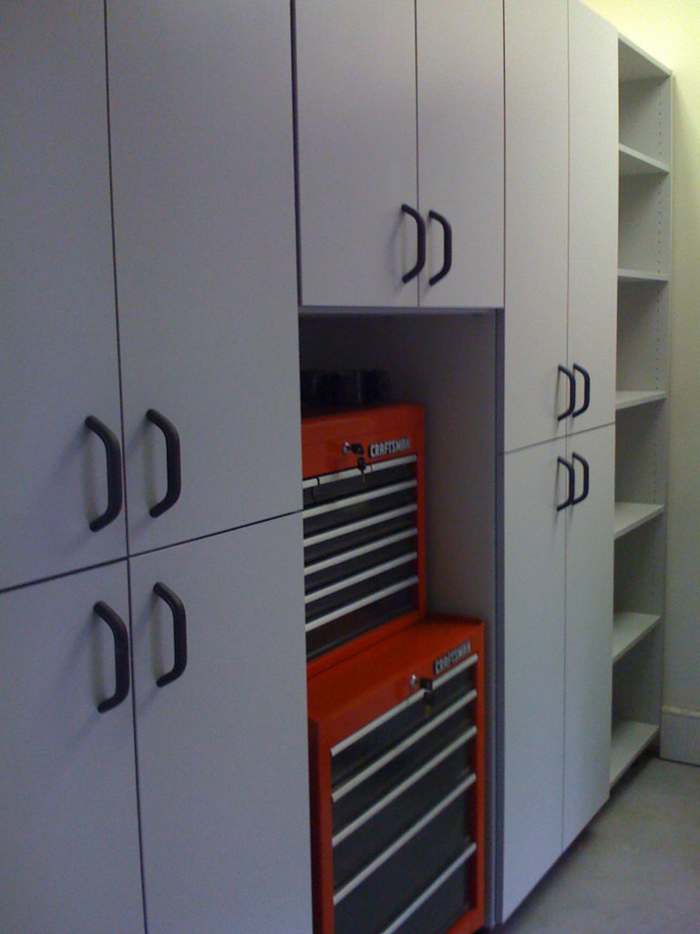 Custom Made Garage Storage Unit