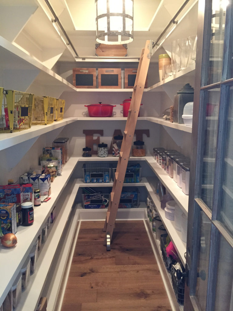 Pantry Storage and Shelving