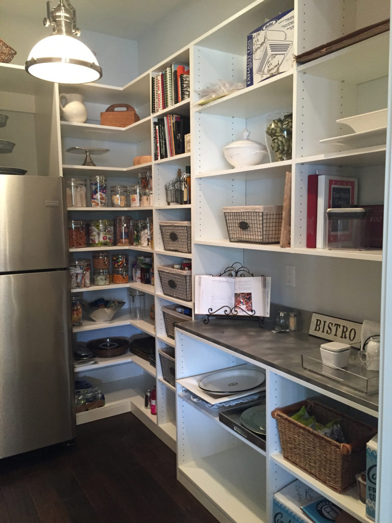 Pantry Shelving and Storage