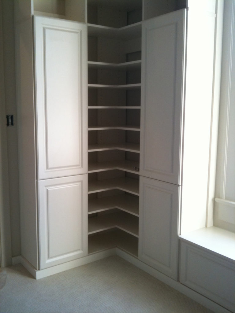 walk in closet solutions