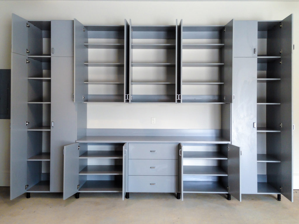 Garage Cabinets and Shelves