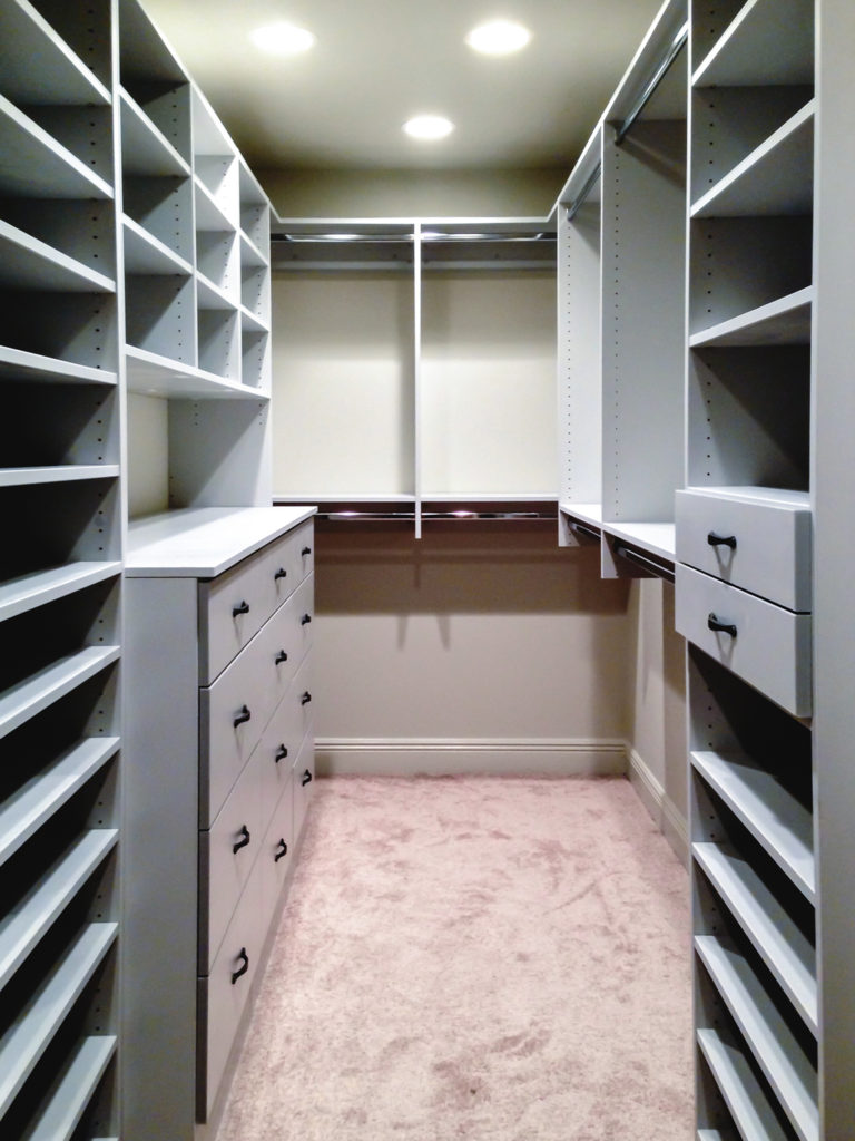 Bedroom Storage Closet