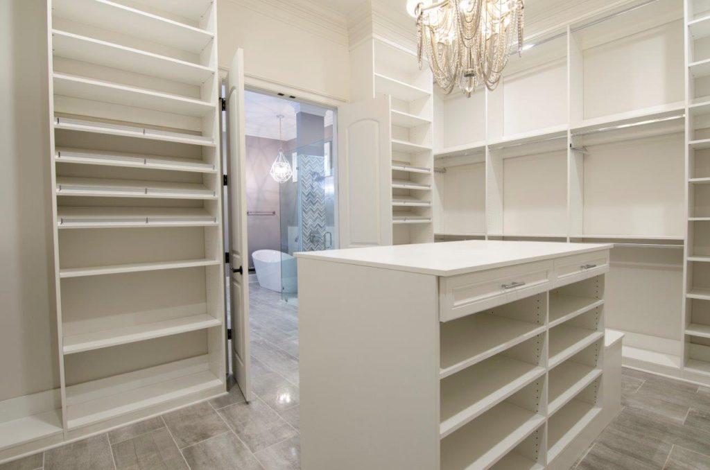 Custom Built Closets and Shelves