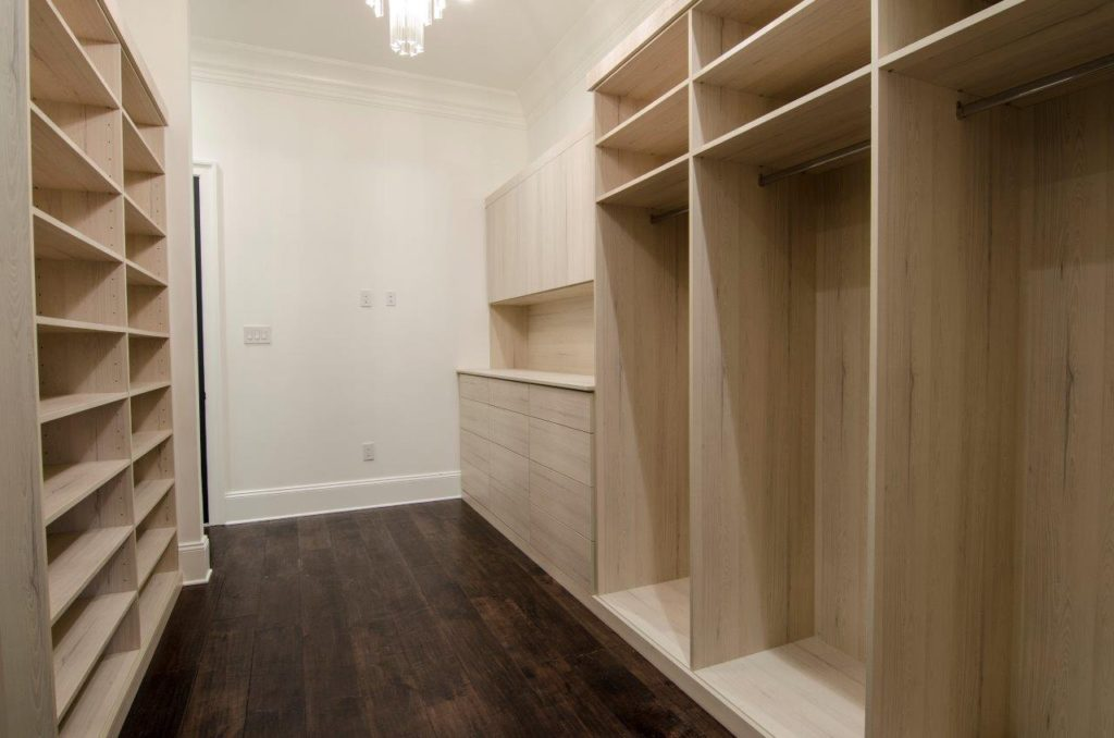 Wooden Cabinets and Closets