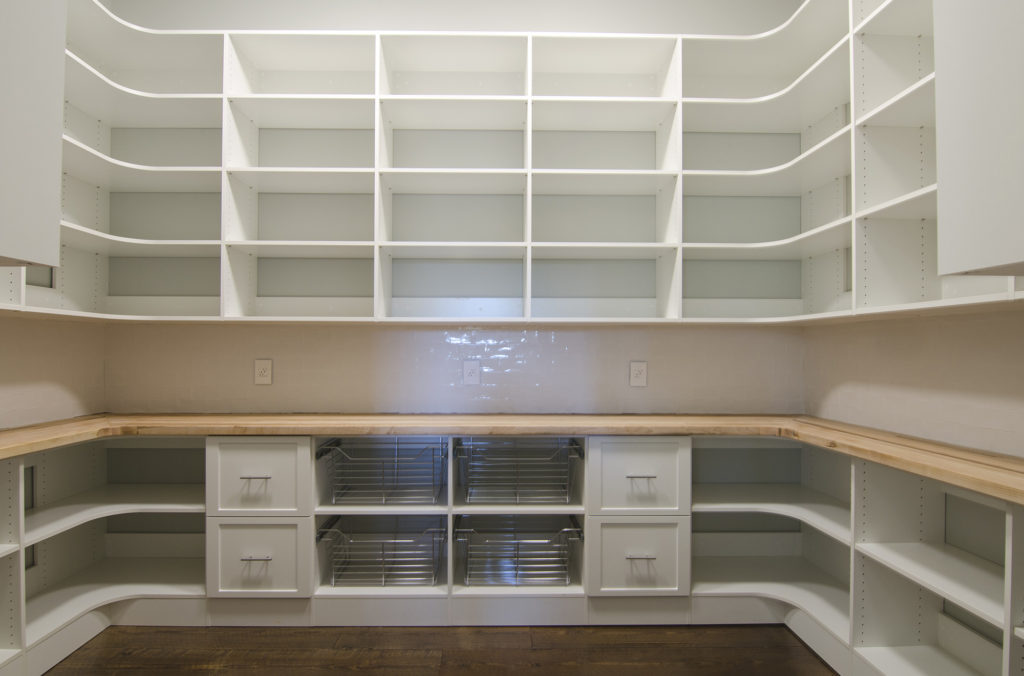 White Pantry Storage Cabinets
