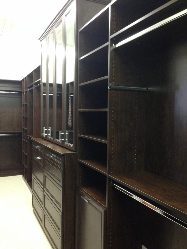Custom Made Cabinets and Shelves