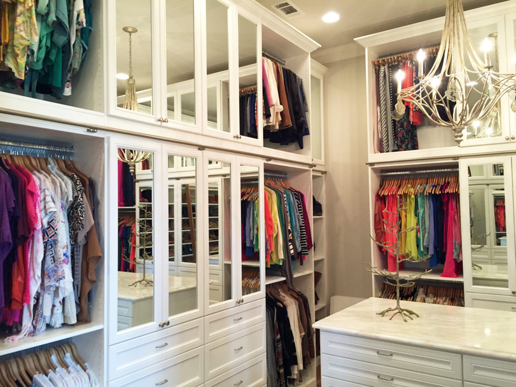 Custom Built In Closets