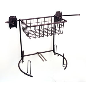 Wire Golf Basket and Rack