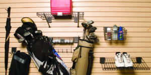 Slot Wall Golf Accessory Kit