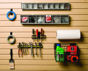 Slot Wall Workbench Accessory Kit