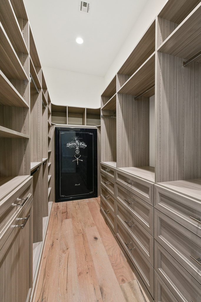 Custom Master Closet Security