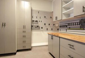 Garage and Workspace Custom Storage Solutions